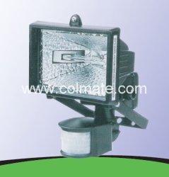 Halogen-Selbstim freienbeleuchtung/Lampe mit PIR Senor