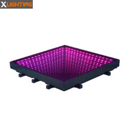 La fase di Dance Floor della discoteca illumina l'indicatore luminoso del LED DJ