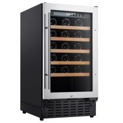 Rostfreie Weinkeller-einzelne Stahlzonen des Wein-Kühlvorrichtung-Kühlraum-Kühlraum-34-Bottle
