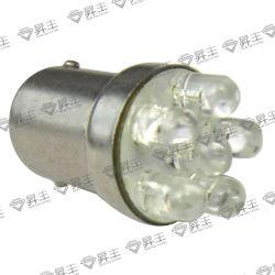 Светодиодные лампы автомобиля/АВТО светодиодный индикатор/Car задний тормозной фонарь 6 светодиод (1156 1157)