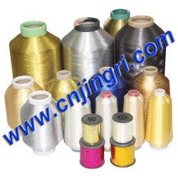 Meilleure qualité de fils métalliques avec du polyester ou de rayonne viscose ou de coton