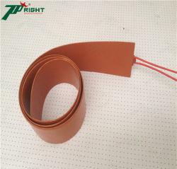 油加熱器のための熱電対と防水適用範囲が広い発熱体のシリコーンのパッド