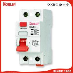 2P 4P 30mA 100mA de 300mA RCCB ELCB Dispositivo disyuntor de corriente residual RCD