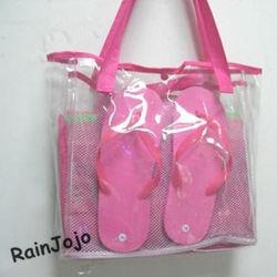 Supermarket Use를 위한 Eco-Friendly PVC Shopping Bag
