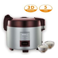 Matériel de restauration avec l'Horeca cuiseur à riz commercial pour le réchauffement de la cuisine à usage intense 3D 24 heures de chauffage
