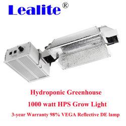 Effet de serre réglable à gradation 1000W à double extrémité HPS/MH croître lumières