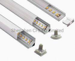 مصباح LED خطي ذو بروز من الألومنيوم مخصص مع مصباح LED مرن SMD2835/3528/5050/3838 الإضاءة الخافتة