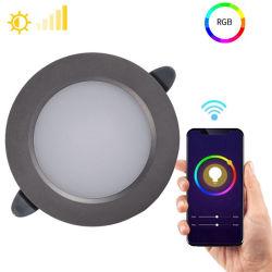 Intelligentes WiFi LED Downlight kompatibel mit Alexa Lautsprechern