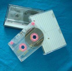 Fitas cassetes de áudio