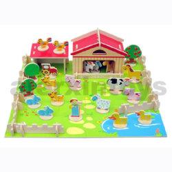 3D деревянные фермы головоломки (81024)