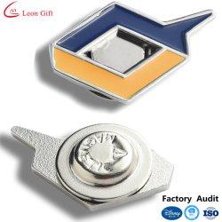 Los fabricantes de logotipo personalizado gracioso de aleación de zinc insignia de solapa