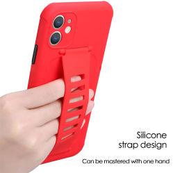 Военных Anti-Drop TPU чехол с силиконом ремешок для мобильных телефонов Аксессуары для Samsung A71/A91/S10 Lite для iPhone X Xs Xr 11