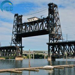 Stahlrohr-Brücken-Geländer-Pier-Stahlaufbau-Stäbe für den Brücken-Aufbau temporär