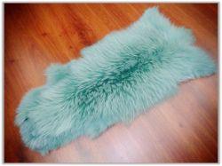 Естественный Белый Raccoon меха шкур в Jade цвет из Leoskin меховые изделия