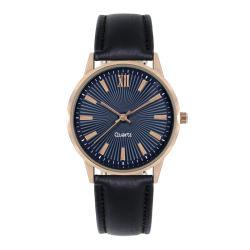클래식 Man Quartz 시계, 방수 가죽 밴드 시계, 남성용