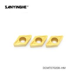 Dcmt070208-Hm CNC-Karbid-Einlage-Ausschnitt-Hilfsmittel für harten Stahl