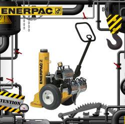 Enerpac PR - 시리즈 소 및 오거 R 라이저 및 등록 유압 인양 잭