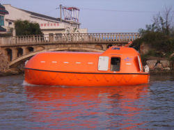 Total beiliegendes FRP Lifeboat/Rescue Boot
