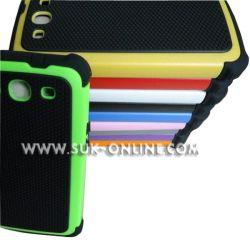 Для Samsung Galaxy S3 I9300 случае тройной слой защиты Silcone / резиновых и пластмассовых (SGS3010)