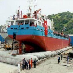Lieferungs-Landung und startender Gummiheizschlauch riefen auch Boat Airbag an