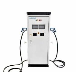 120kw Chademo CCS EV chargeur Chargeur de voiture électrique rapide Deux Écran tactile 7 pouces
