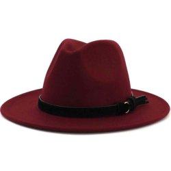 رجال أوروبيون وأمريكيون نساء فيدورا قبعة مسطحة ذات غطاء أزياء