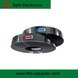 4.5 micras único margen con un lado la película de poliéster metalizado de aluminio