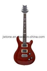 Gewölbte Rumpf-Oberseiten-Fotorezeptor-elektrische Gitarre