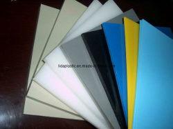 Weißes, graues, beige, farbiges Blatt des Polypropylen-(pp.) für chemisches Becken