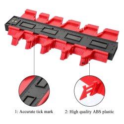 مقياس الخط الكفافي أشكال البلاستيك نسخ Contour المقاييس قياسي علامات الخشب الأدوات تزييت ألواح الخانوت أدوات قياس التشكيل الجانبي أدوات
