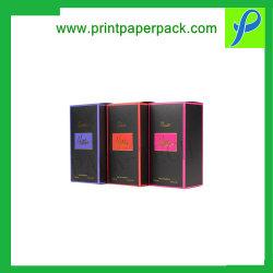 صناديق ورق طباعة ملونة بالكامل لتغليف إزالة الشامبو / عist الجسم