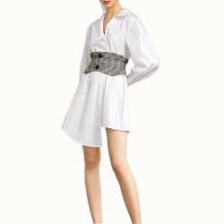 봄 가을 여자를 위한 새로운 디자인 최신 유행스타일 긴 소매 셔츠 복장
