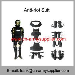 機密保護の保護警察の装置ヘルメット盾反暴動のスーツ