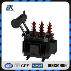 Sumergidos en aceite trifásico de transformadores de distribución Transformador de potencia
