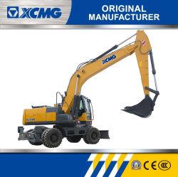 XCMG 20 Rad-Exkavator der Tonnen-Xe210wb für Verkauf