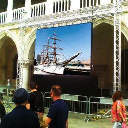 640x640мм открытый/крытый светодиодный экран с помощью тонкой Кабинета по поощрению