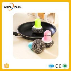 Laver la vaisselle de cuisine créative de l'aide Pot brosse de lavage hydraulique automatique