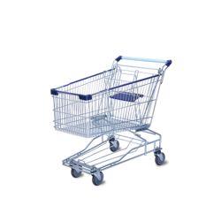 Eccellente qualità e prezzo basso 150L stile Asiatico Supermarket Trolley