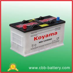 12V95ah JIS bateria do automóvel de carga seca (30H90R-N90)