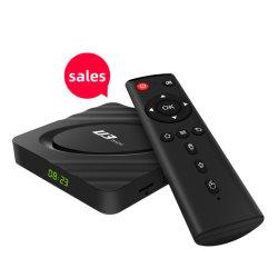 Vivre à bon marché Xangshi canaux HD TVE 5GHz/2.4G Amlogic WiFi S905X3 4+64 Android 9.1 4K 4K Hdr décodeur TV Box Quad Core