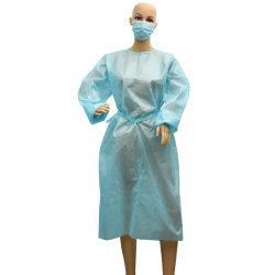 Fabricant jetables de haute qualité PP PE Costume d'isolement