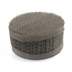 Fil métallique en acier inoxydable de la gaze structuré de l'emballage