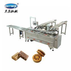 Procesador de alimentos Sandwiching Biscuit Maker máquina panadería privilegio equipo