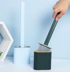新しいデザインQuick-Dry洗面所のブラシセットの無毒なシリコーンの浴室の洗浄の角のクリーニング