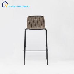Resorte de acero 2021 Jardín Patio exterior de la cuerda de PVC de sillas y taburetes