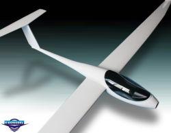 RC de madera de balsa de 2,4 millones de avión modelo ASW 28 Glider (W2204)