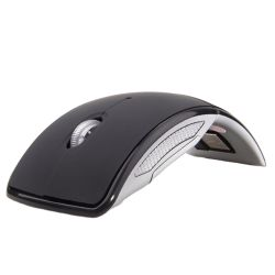 무선 Arc 마우스 2.4GHz 컴퓨터 접이식 휴대용 노트북 슬림 마우스
