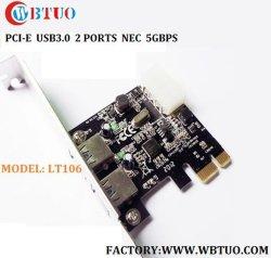 Chipset 5gbps del NEC degli orificii dell'adattatore 4 della carta di PCI Express USB3.0