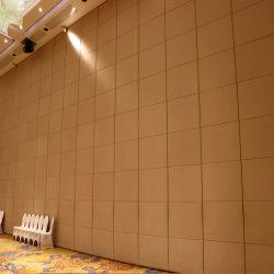 슬라이딩 파티션 이동식 벽 작동 가능 벽 유리 또는 솔리드 와이드 측정 마감 선택