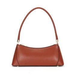 [جنوين لثر] [أوندررم] حقيبة يد لأنّ نساء سيدات حقيبة يد